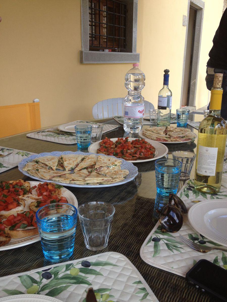 Eten in Toscane - Borgo La Casa - Vakantiehuis met tuin