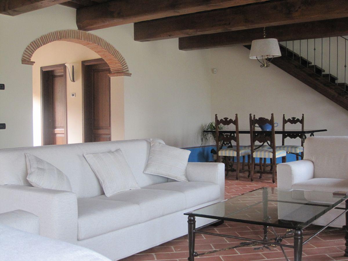 Vakantiewoning met zwembad airconditioning Toscane 6 personen