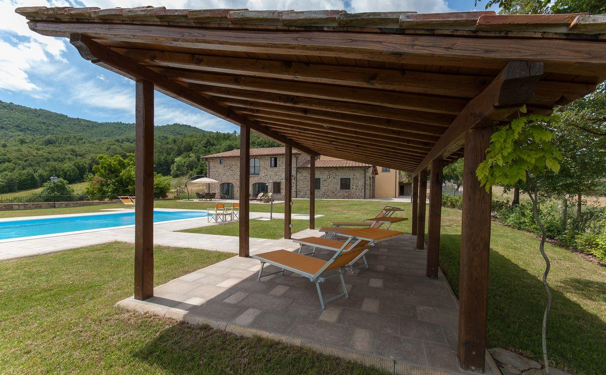 Vakantiehuis met zwembad 4 personen toscane, vakantiewoning met zwembad 6 personen toscane, vakantiewoning met zwembad 10 personen toscane, borgo la casa