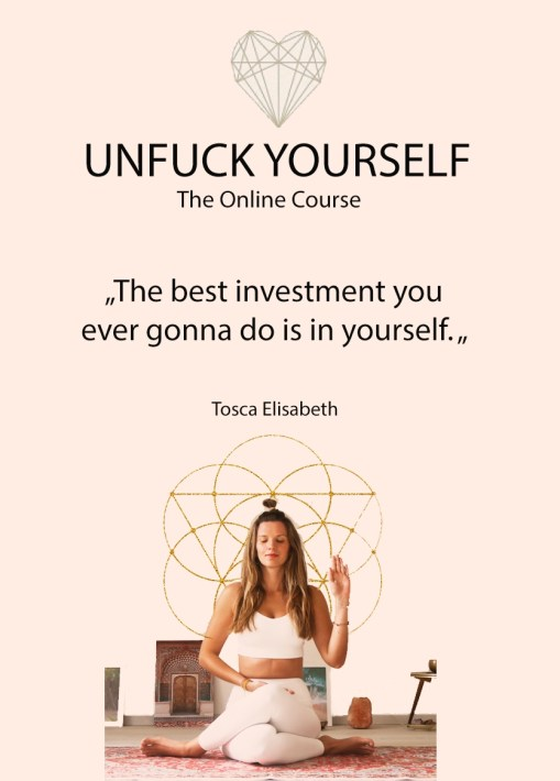 Personal Spiritual Empowerment Tosca Yoga Online Meditation Course Selflove Online Course Tosca Mentor Spiritual Guide instagram influencer yoga teacher selflove coach bestselling author