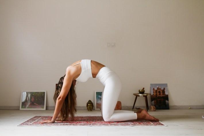 yoga poses tosca