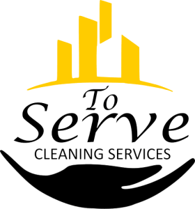 To Serve Cleaning Logo