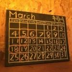 【2018】3月のお休みについて。