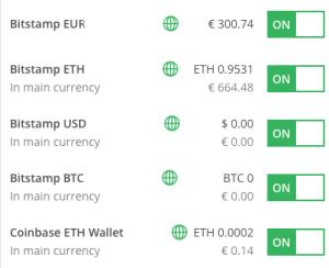 bitcoin exchange account)