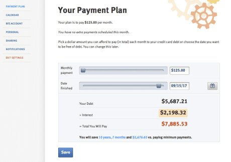 Ready for Zero - Your Payment Plan