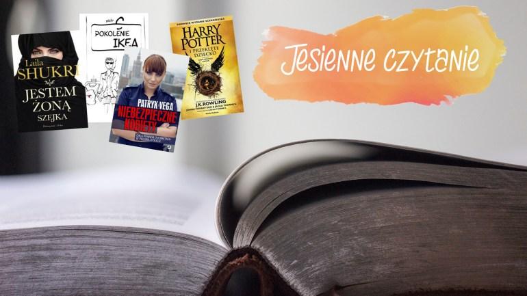 10 książek do przeczytania jesienią