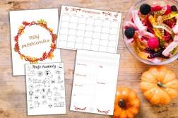 październikowy pakiet startowy bullet journal