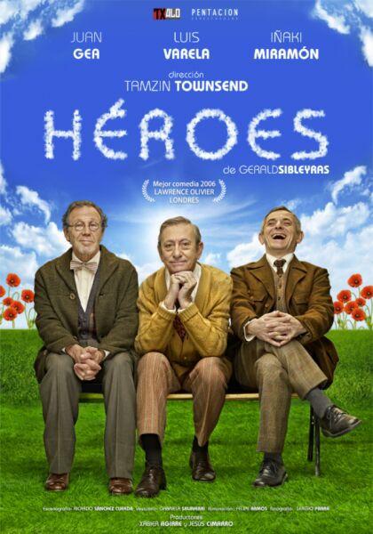 Heroes con Luis Varela, Juan Gea e Iñaki Miramón -Anfiteatro Oscar Esplá, 4 junio 2017