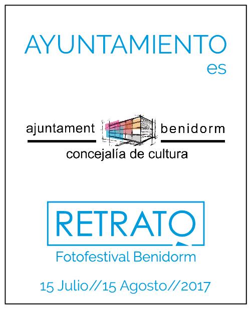 Retrato Fotofestival Benidorm 15 julio a 15 agosto 2017