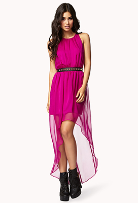 Shirred High-Low Dress $24.80