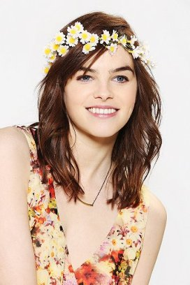 Flower Crown Headwrap $16.00