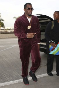 8. Velour track suits