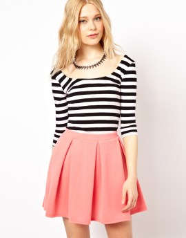 River Island Scoop Ballerina Stripe Top $21.15