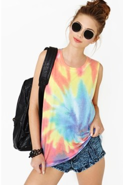 Psychedelic Muscle Tee