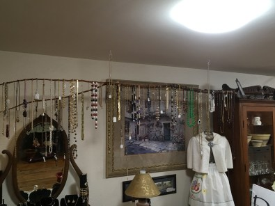 We have a variety of jewelry, modern to vintage.
