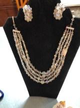 Aurora Borealis Necklace/Earring Set