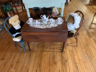 Sweet Drop Leaf Children's Table