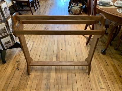 Solid Oak Quilt Rack
