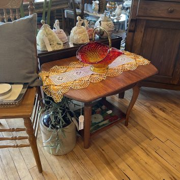 Vintage Two Tier Table