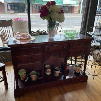 Gorgeous Console table/serving buffet with drawers