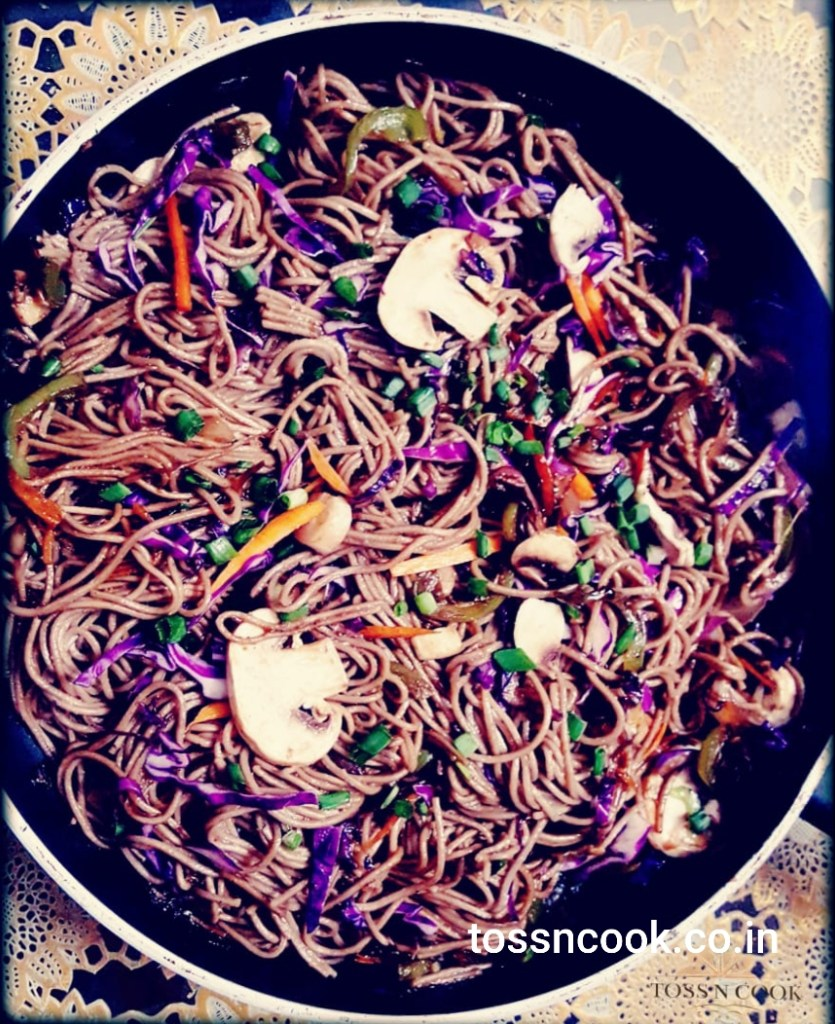 Soba Noodles – with exotic veggies