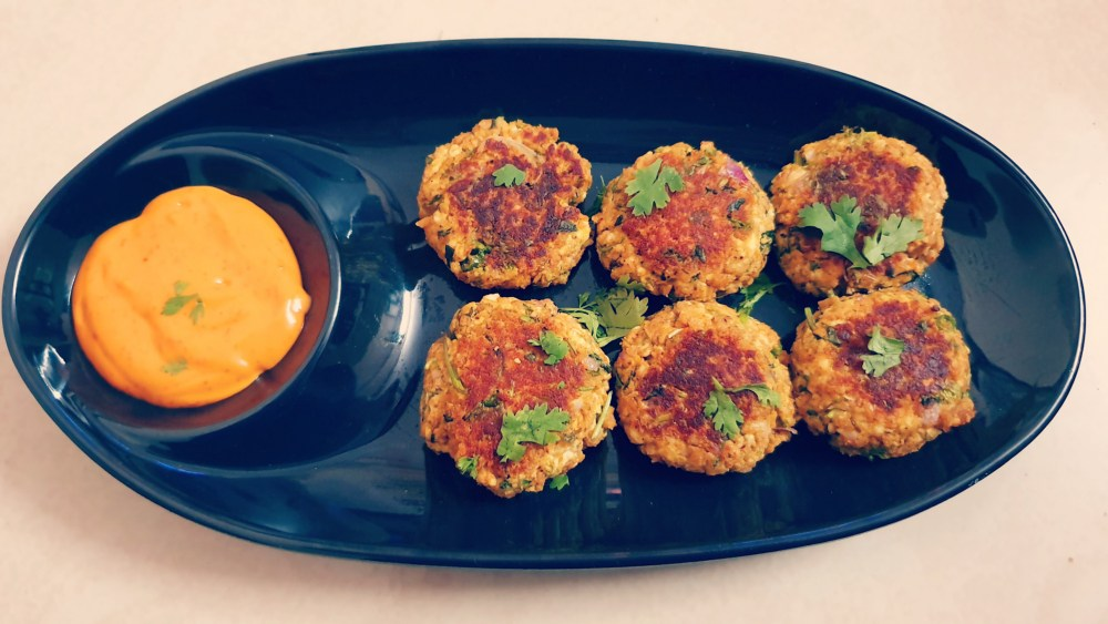 Paneer Soya Patty