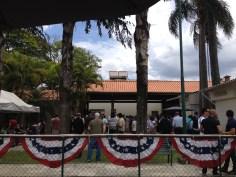 Consulate BBQ area