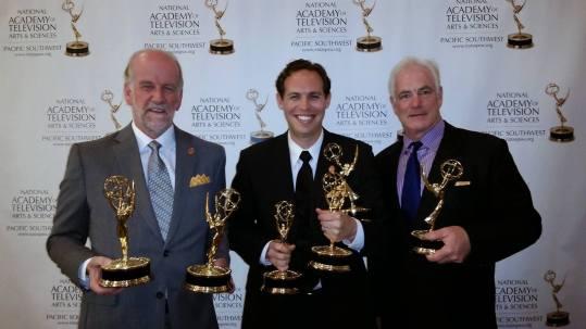 UTB Team with Emmys
