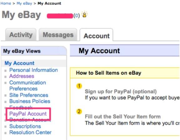 ebayとPayPal