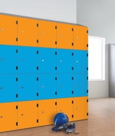 laminate door lockers