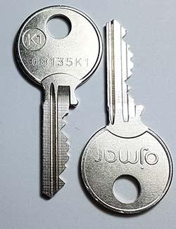 Ojmar standard key