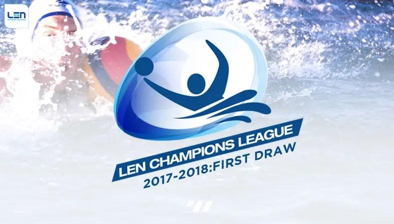 LEN Champions League Draw