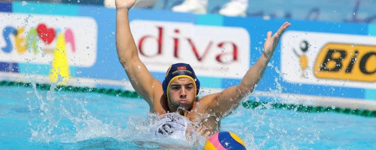 Nikola Moskov Montenegro Water Polo Junior
