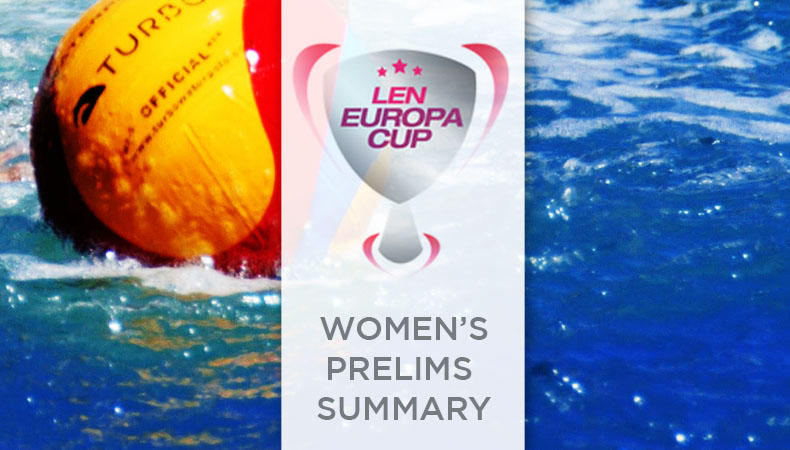 Womens Europa Cup 2018 Prelim Summary