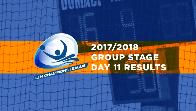 LEN-champions-league-2017-2018-Group Stage Day 11 Results