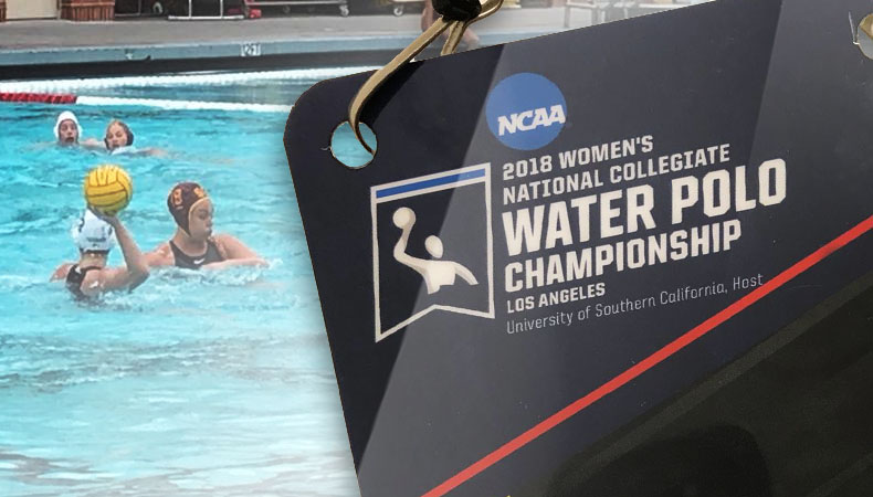 2018 Womens national Collegiate Water Polo Championship Los Angeles Day 02
