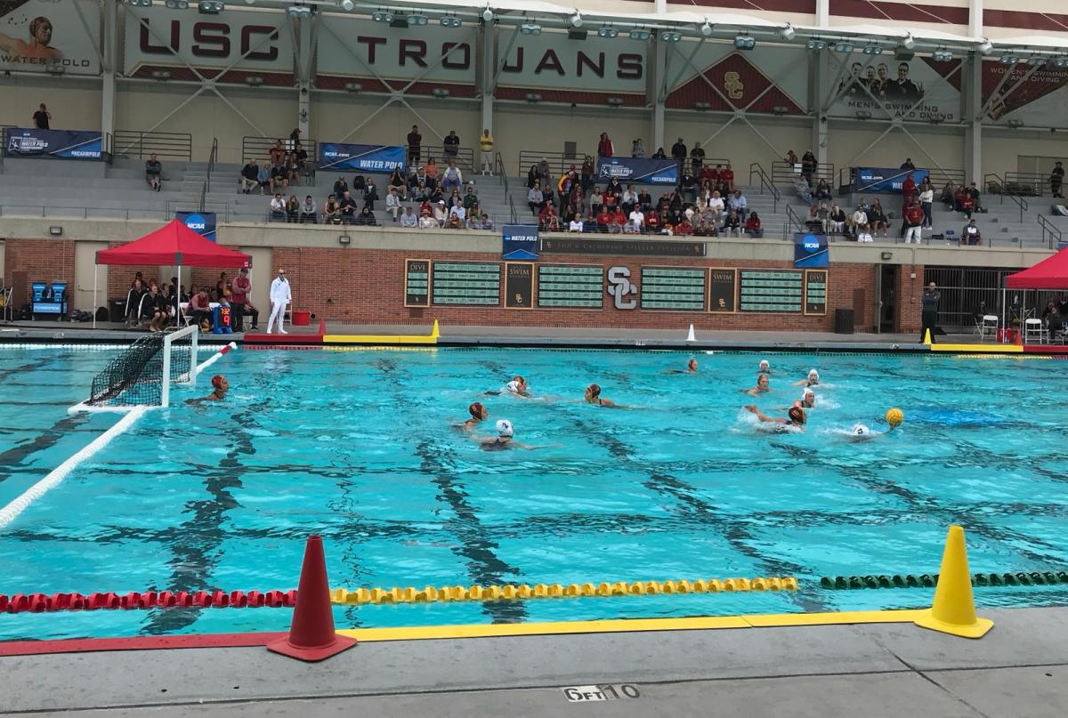 2018 Womens national Collegiate Water Polo Championship Los Angeles Day 2