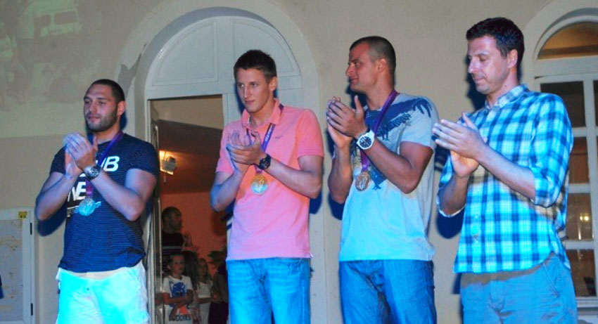 London 2012 Olympic Winners from Cavtat