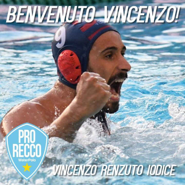 Vincenzo Renzuto Joins Pro Recco!