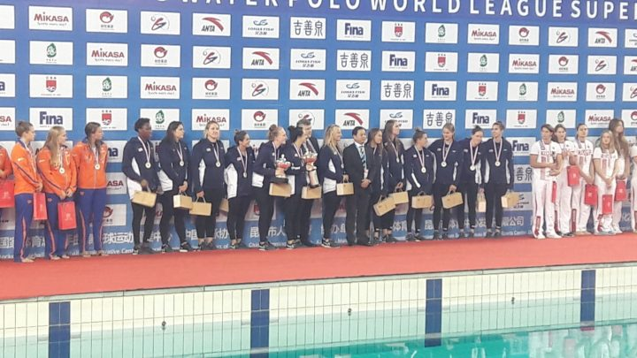 USA Retains FINA Women's Water Polo Super Final in Kunshan!