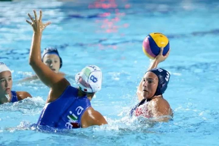 Women's Youth World Championships, Belgrade, Day 2 — Match Reports