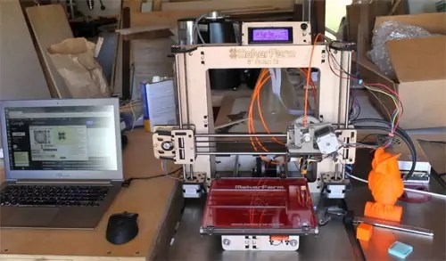 Printing with the Maker Form Prusa i3