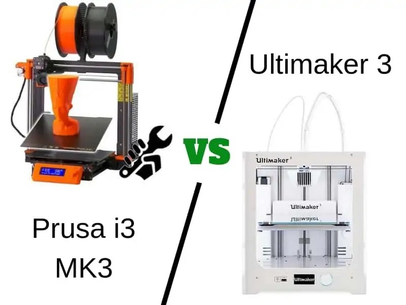 Prusa i3 MK3 vs Ultimaker 3 [2019] - Which is the Best 3D