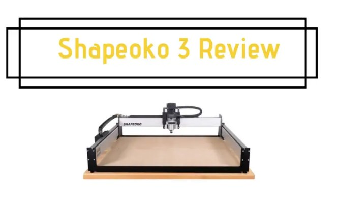 Shapeoko 3 Review