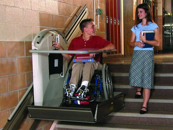 Total Access offers traight inclined platform wheelchair lifts