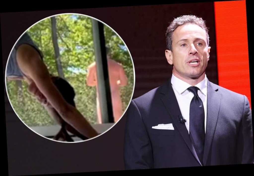 Chris Cuomo apparently caught naked in wife Cristinas