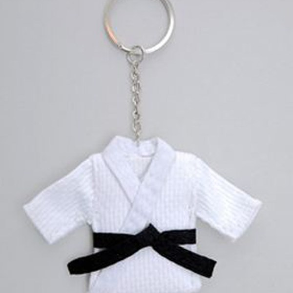 Judo suit key ring