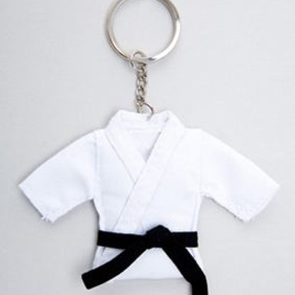 Karate Suit Key Ring