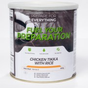 Freeze Dried Tin Chicken Tikka With Rice