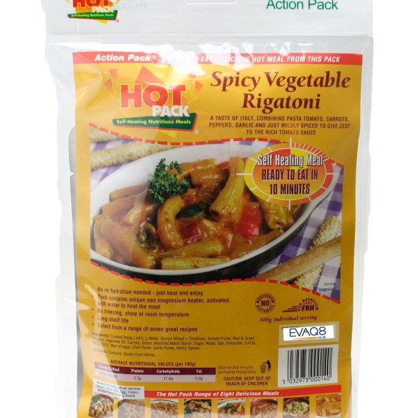 Hot-Pack-Spicy-Vegetable-Rigatone-Self-Heating-Meal
